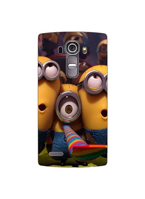 People's Cover LG G4 Kabartmalı Kapak Renkli